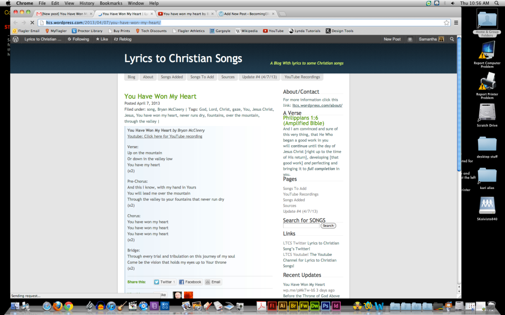 From Lyrics to Christian Songs